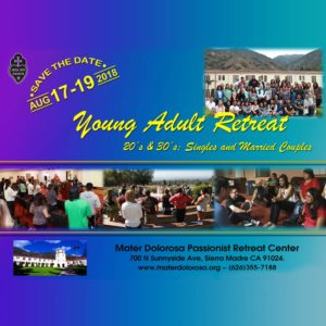 Young Adult Retreat Weekend
