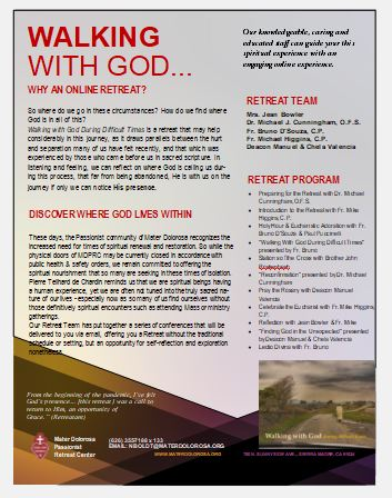 Walking with God brochure link