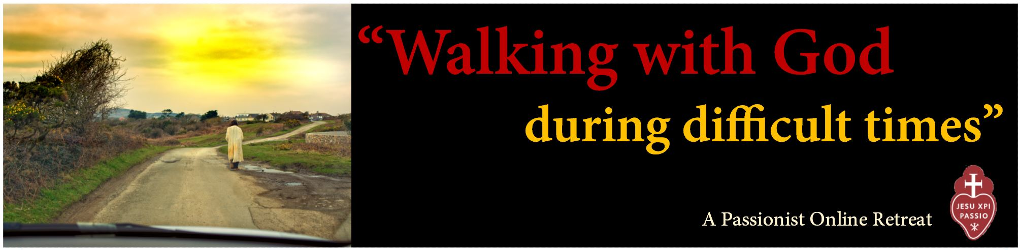 Walking with God Banner
